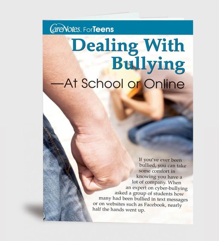 Dealing With Bullying — At School or Online