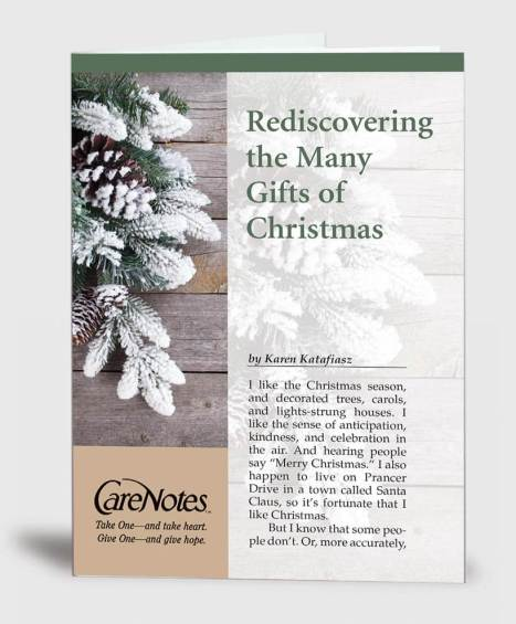 Rediscovering the Many Gifts of Christmas