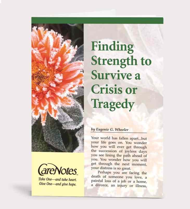 Finding Strength to Survive a Crisis or Tragedy