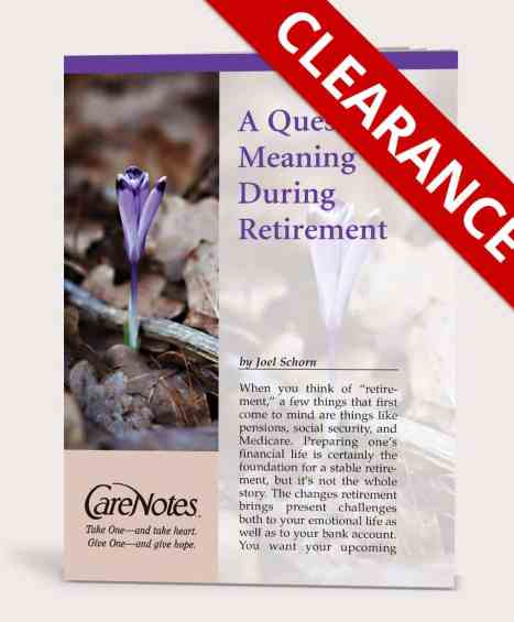 A Quest for Meaning During Retirement