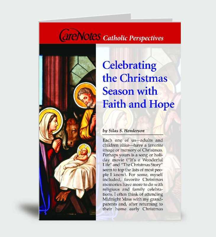Celebrating the Christmas Season With Faith and Hope