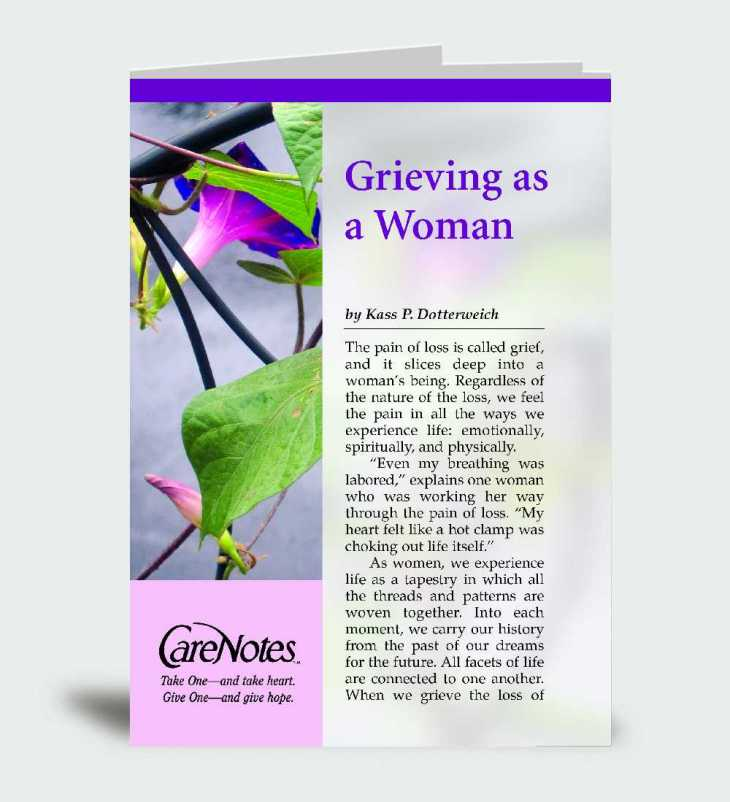 Grieving as a Woman