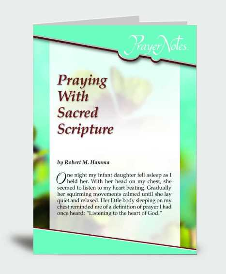 Praying With Sacred Scripture