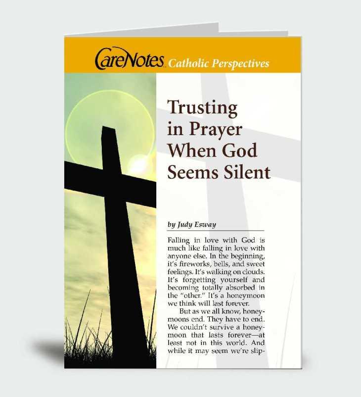 Trusting in Prayer When God Seems Silent