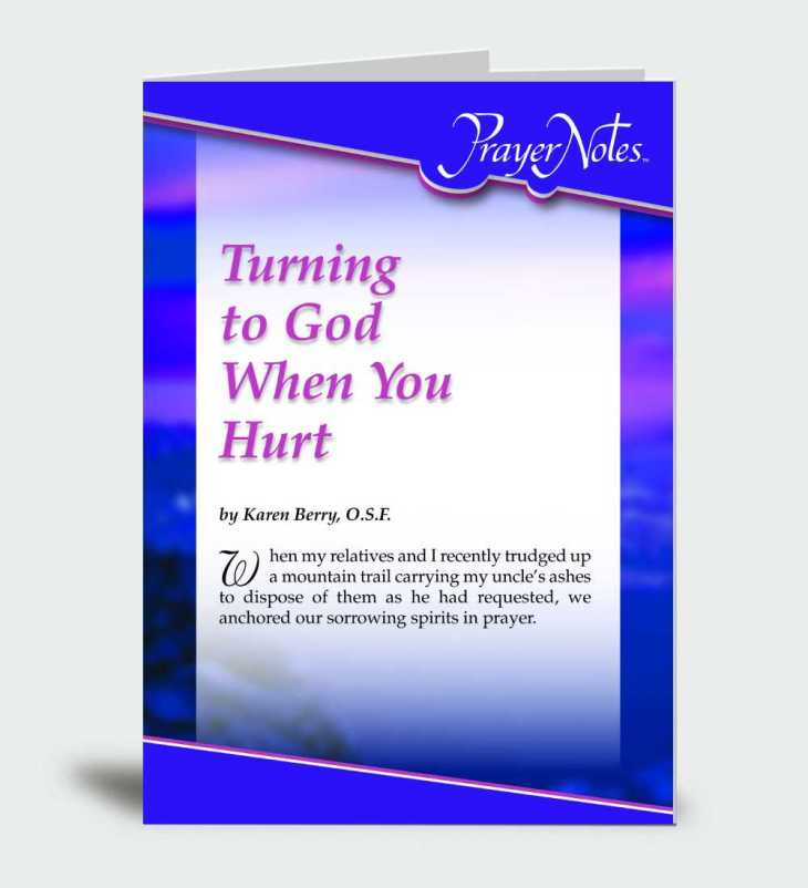 Turning to God When You Hurt