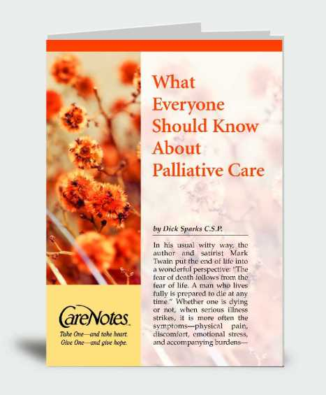What Everyone Should Know About Palliative Care