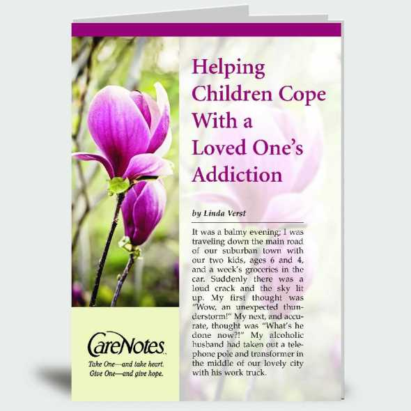 Helping Children Cope With a Loved One's Addiction