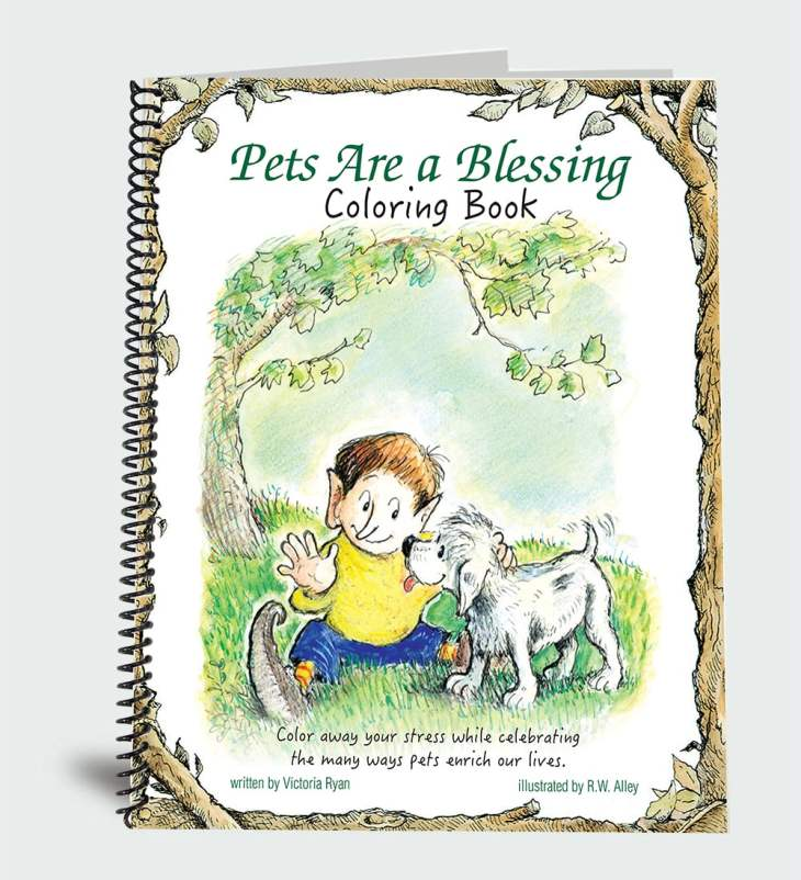 Pets are a Blessing Coloring Book