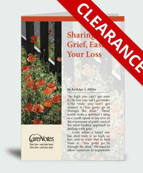 Sharing Your Grief, Easing Your Loss