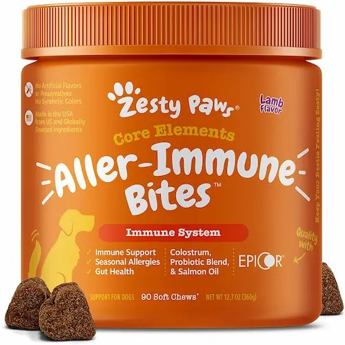 Zesty Paws Allergy Immune Supplement For Dogs USA 2021