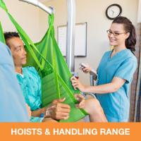 Hoists & handling range