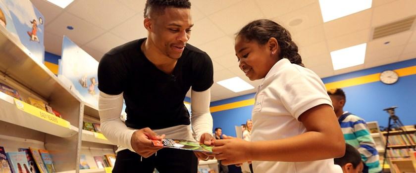 NBA Players Give Back