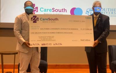 CareSouth donating $1.4 million dollars to Southern University