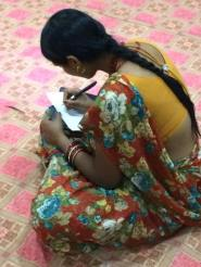 Planning woman