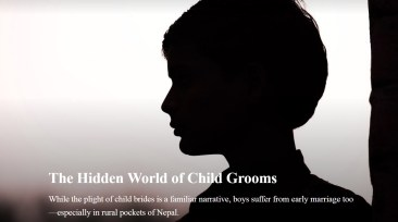 Child groom