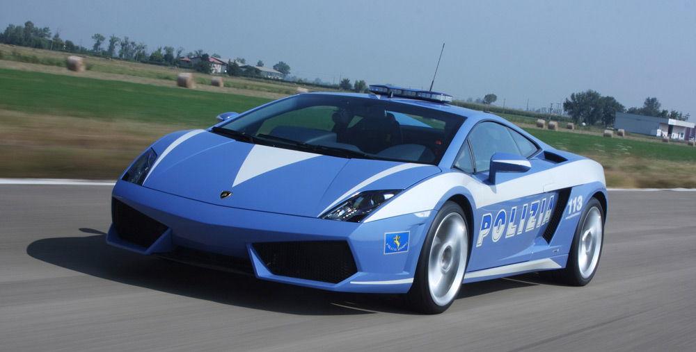 ПолицейскийLamborghini Gallardo LP560-4