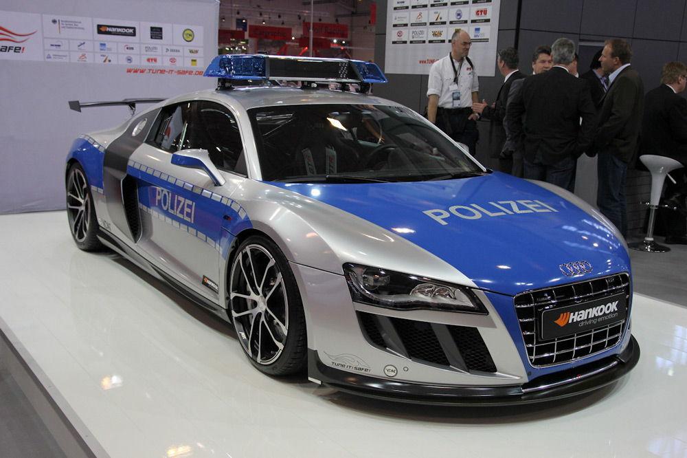 ПолицейскийAudi R8 GT R