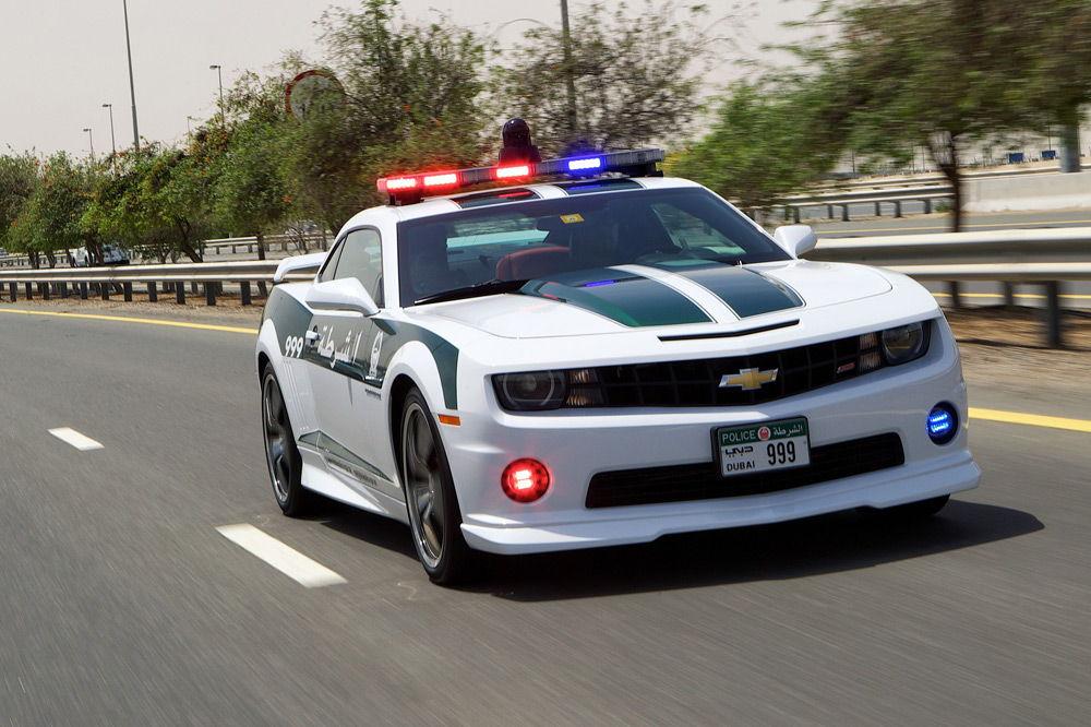 ПолицейскийChevrolet Camaro SS