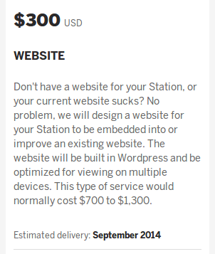 $300 tier offer