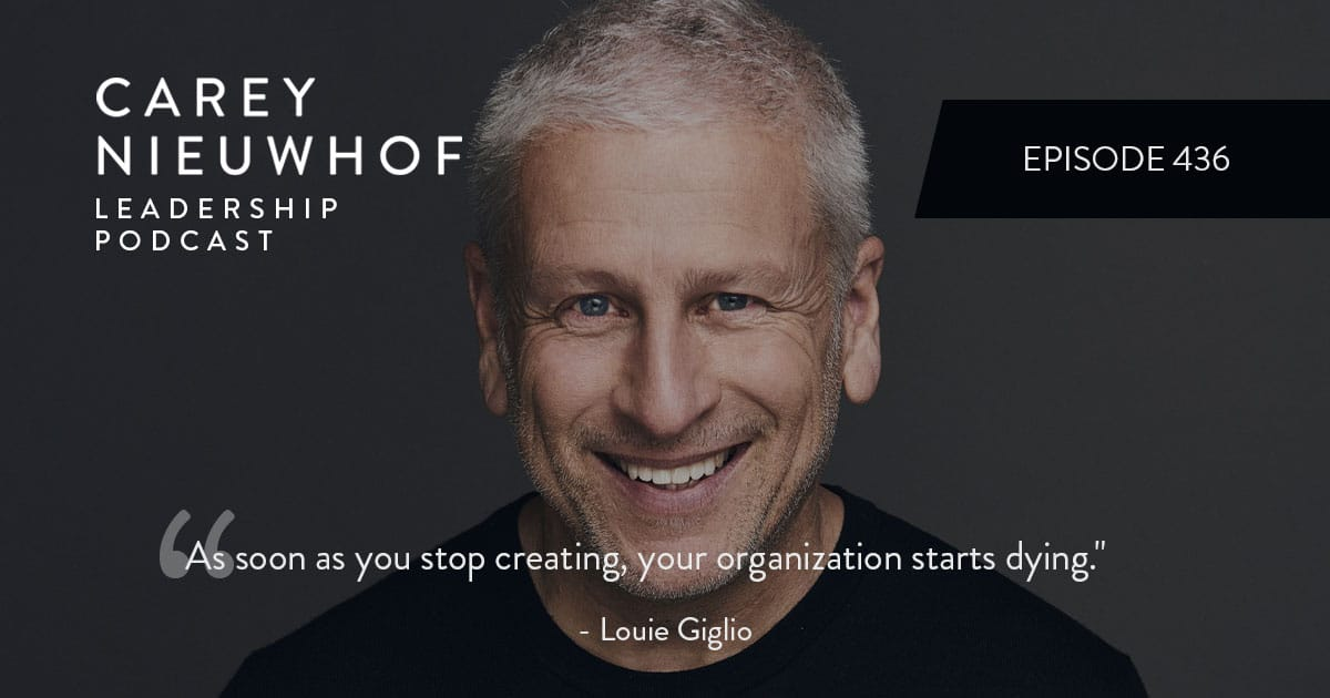 CNLP 436: Louie Giglio Weighs in on Church Online, What Separates Elite Leaders from Second Tier Leaders, and the Enemy in Your Head