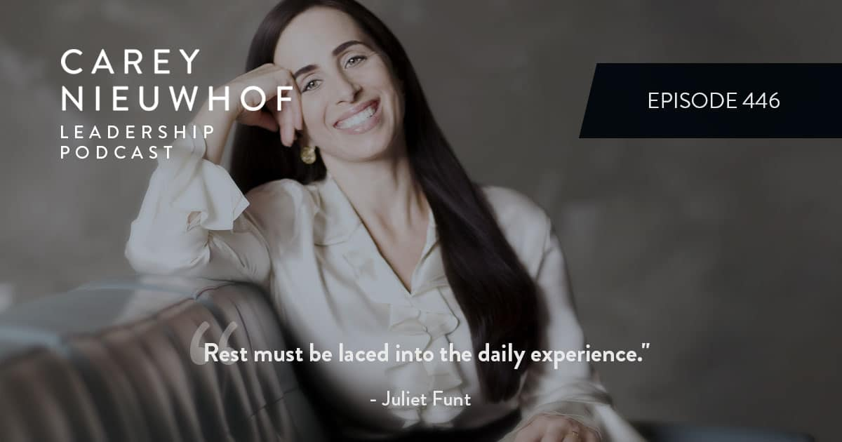 CNLP 446: Juliet Funt on Productivity Thieves, the Hidden Cost of Busyness, How to Add White Space to Your Work and Life