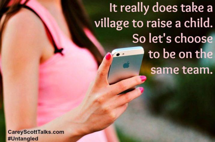 take a village