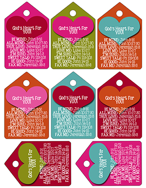 God's Heart for You Printable