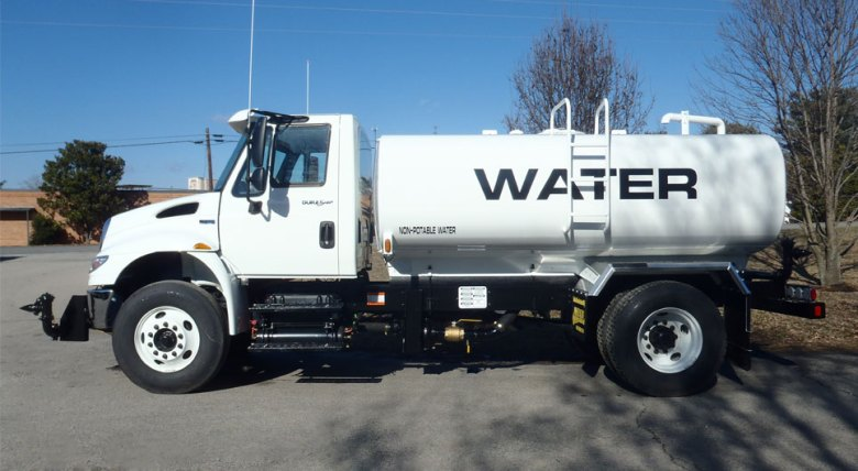 truck water tank