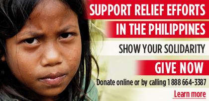 Support Development & Peace Relief Efforts for the Philippines