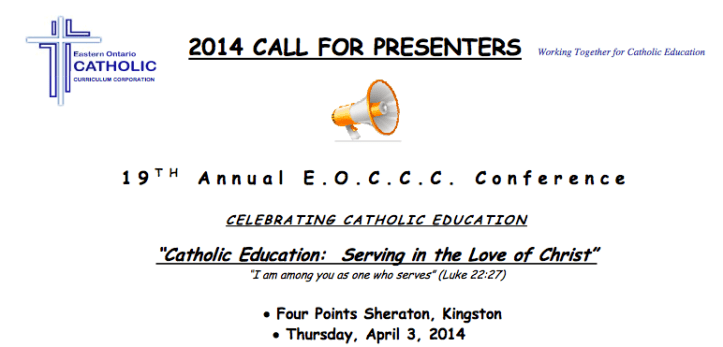 EOCCC Conference Call for Presenters
