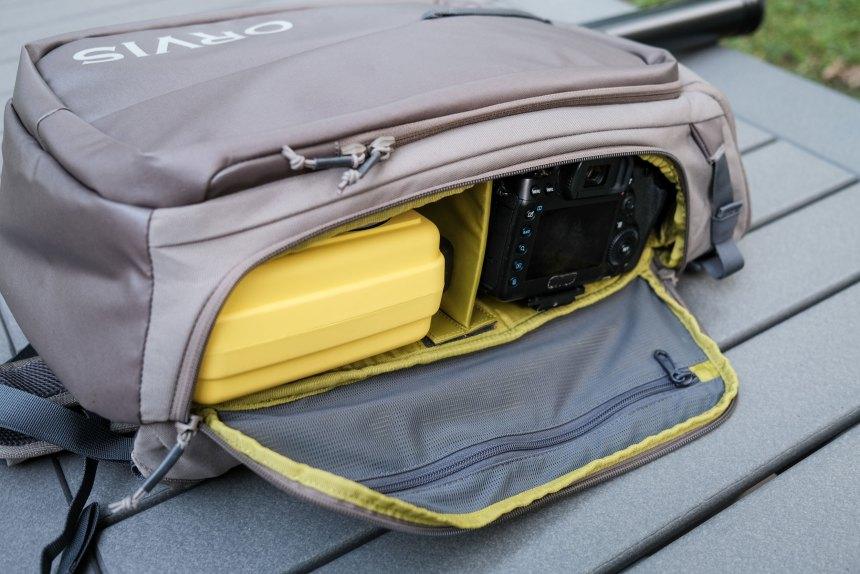 Orvis bug-out backpack camera bag