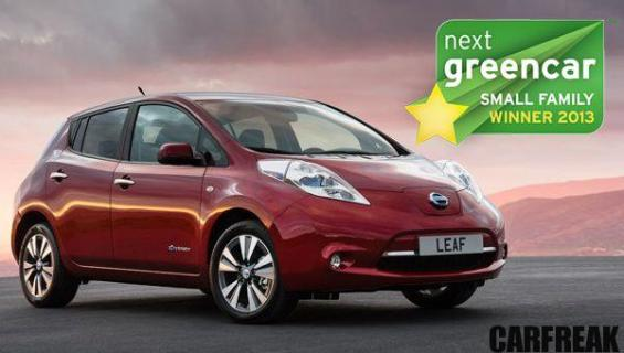 Nissan LEAF - Next Green Car Small Family Winner 2013