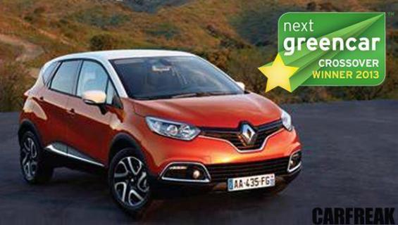 Renault Captur - Next Green Car Crossover Winner 2013