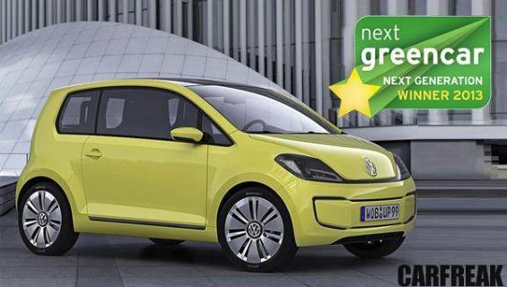 VW e-up! - Next Green Car Next Generation Winner 2013