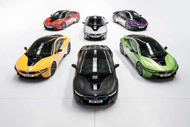 BMW i8's