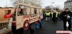 Manifestation pour la gratuité des transports