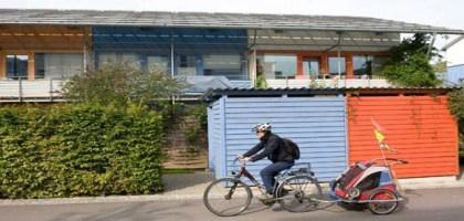 Dans les banlieues allemandes, la vie continue sans voitures