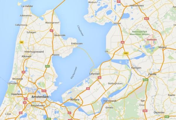 Giethoorn-carte
