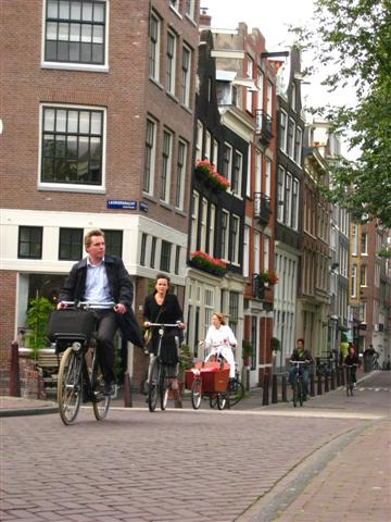 Amsterdam commuters