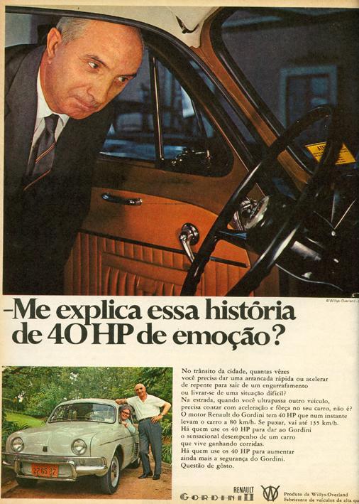 Renault Gordini 1966
