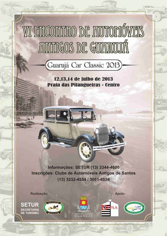Guarujá Classic Car 2013