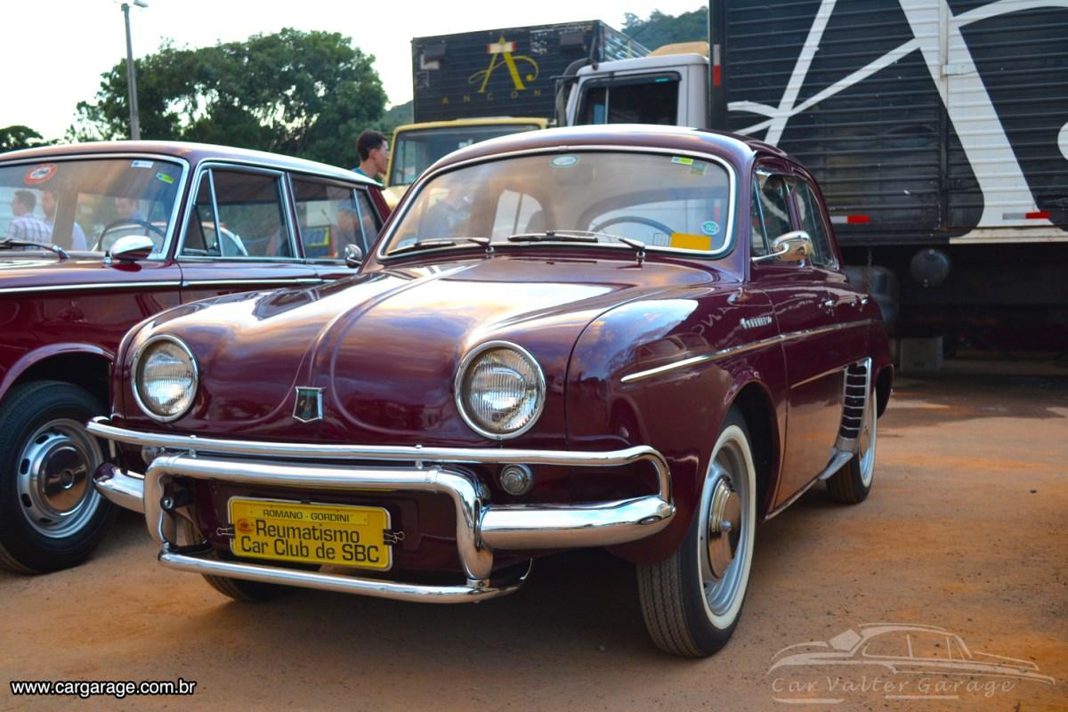 Premiado - Willys Gordini 1963 do Reumático Aparecido Romano