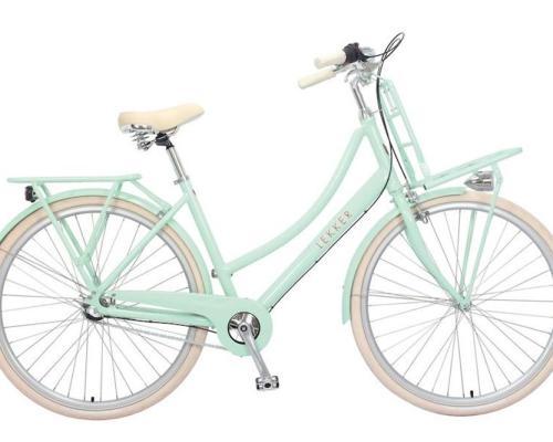 LEKKER Jordaan Womens Green Retro Bikes 1 4 2