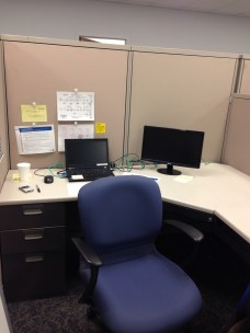 My cubicle