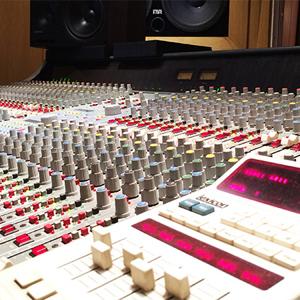 estudio de grabación en Madrid