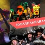 Otras 10 bandas raras de música bizarra y estrafalaria (III)