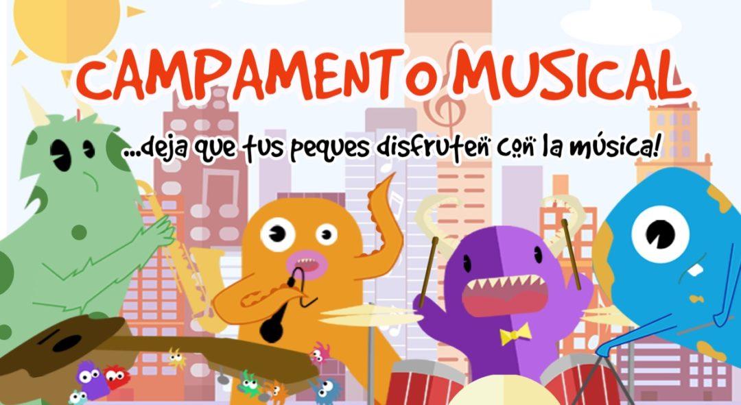 campamento infantil musica