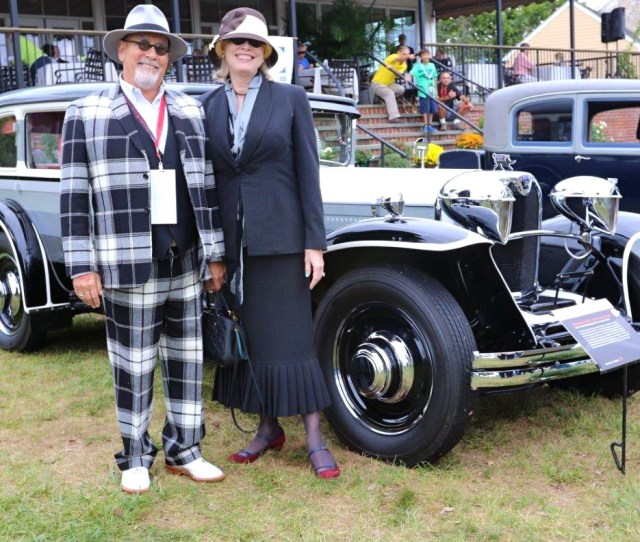 The Radnor Hunt Concours Delegance In Malvern Pa Again Entertained And Informed Concours Goers With Top Attractions Here We Have Alan Anspaughs 60