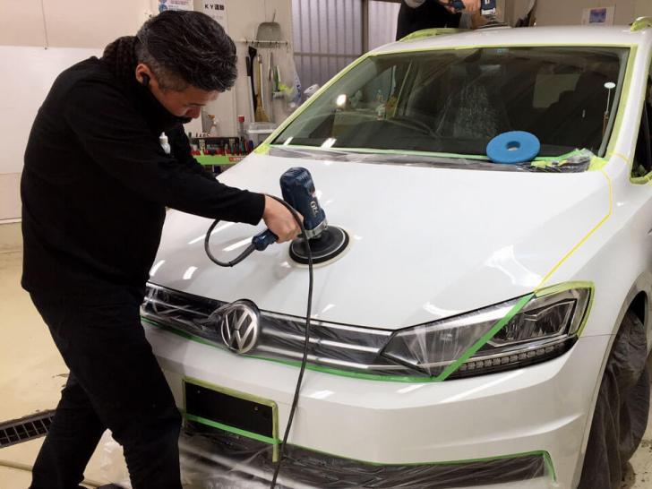 Volkswagen Touran coating