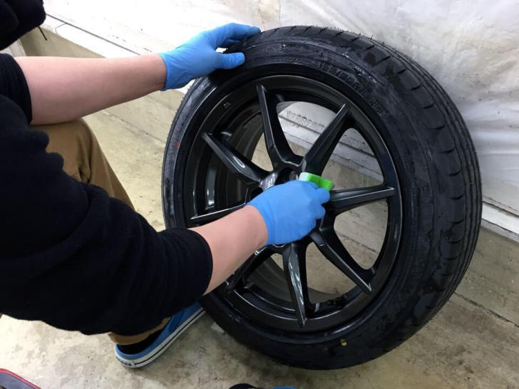 mazda ROADSTER coating wheel coating